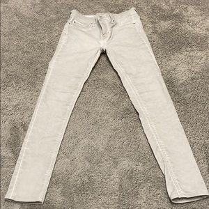 Silver Gap 1969 Skinny Legging Jeans. Sz M